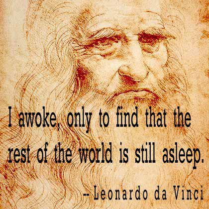 I awoke, only to find that the rest of the world is still asleep.